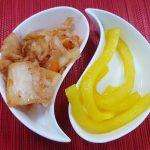 Корейски ресторант Кимбап Варна Кимчи и ряпа