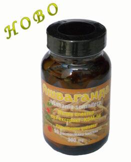Екстракт от Ашваганда 90 веган капсули подпомага за защита на тялото от токсини от околната среда и за поддържане на психическо и физическо здраве.