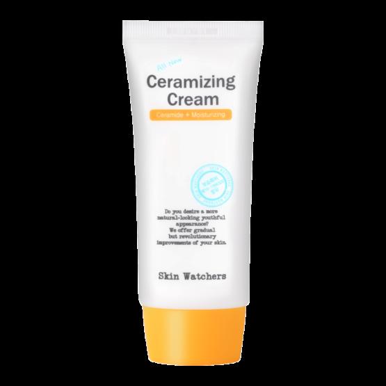 Корейска козметика Skin Watchers дълбоко овлажняващ крем със серамид 50 мл.