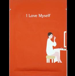 Корейска козметика Pack Age шийт маска за лице I love myself
