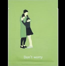 Корейска козметика Pack age шийт маска за лице Don't worry