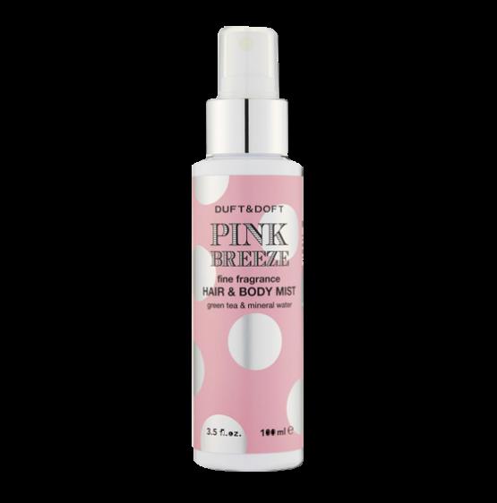 Корейска козметика DUFT DOFT Розов бриз спрей за тяло