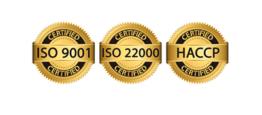 Продуктите на Панацея са произведени в условия на сертифицирани системи за качество и безопасност БДС EN ISO 9001:2015 и БДС EN 22000:2018