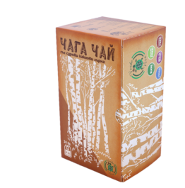 чай филтър чага със сурови какаови зърна