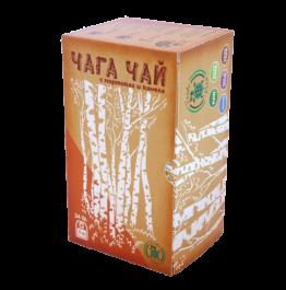 чай филтър чага с портокал и канела