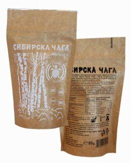 Сибирска чага екстракт на прах 60 г